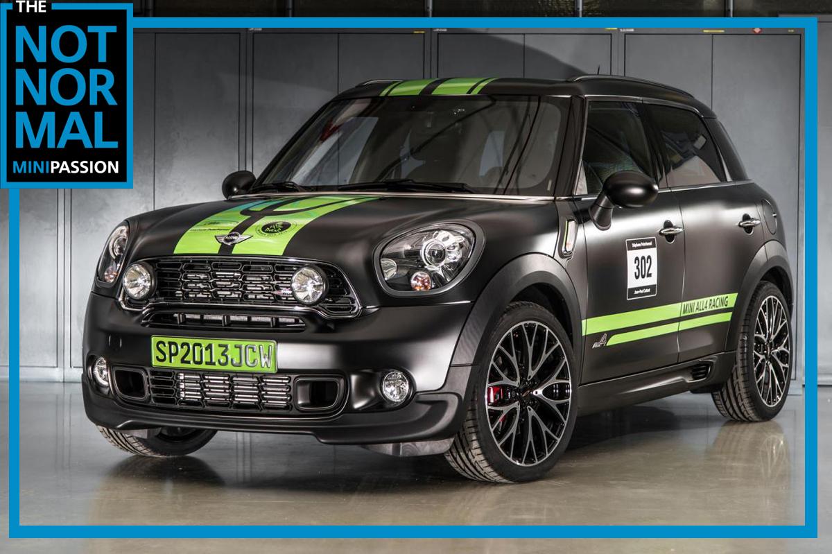 Mini Passion Car Club Turkey 2013 MINI John Cooper Works Countryman ALL4 Dakar